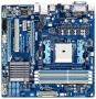 Материнская плата Gigabyte GA-A55M-S2HP - mATX, FM1, AMD A75, 4xDDR3, 2xPCI-E x16 / 1xPCI-E x1 / 1xPCI, HDA 7.1CH
