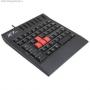 Клавиатура A4TECH проводная ММ G-100, USB (черный) игровой блок 70810