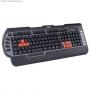 Клавиатура A4TECH проводная игровая ММ G-800MU, PS/2, (черный) 74681