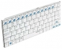 Клавиатура Rapoo E6300 Bluetooth White ультратонкая для iPad